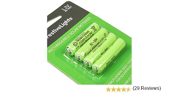 per gli articoli solare Solar-Batteria per lampada solare RICAMBIO Batteria AAA 1,2v NI-MH 600mah