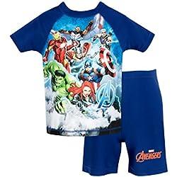 Marvel Avengers - Bañador de dos piezas para niño - Avengers - 4 - 5 Años