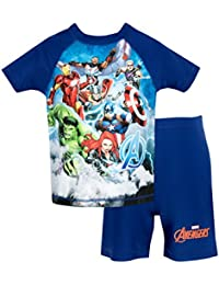 Marvel Avengers Boys Avengers Two Piece Swim Set Ages 18 Months to 7 Years