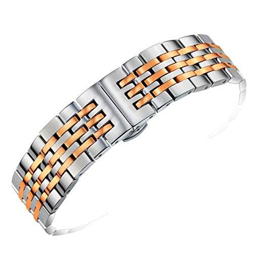 18-millimetri-due-tonalita-argento-e-rosa-bande-orologio-da-polso-in-oro-solido-fibbia-a-sgancio-rap