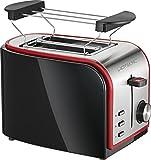 Clatronic TA 3557 Toaster, schwarz