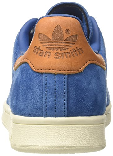 adidas Unisex-Erwachsene Stan Smith Basketballschuhe Blau (Core Blue/core Blue/off White)