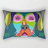 Elegancebeauty Dogs fodere per cuscini 40,6x 61cm/4060cm di scelta migliore per teenager ragazzi ufficio padre Natale casa divano con doppi lati