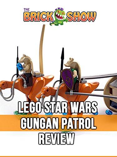 Review: Lego Star Wars Gungan Patrol Review [OV]