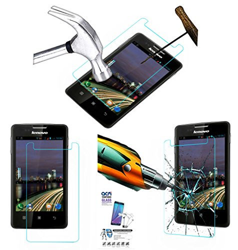 Acm Tempered Glass Screenguard For Lenovo A600e Mobile Screen Guard Scratch Protector  available at amazon for Rs.179