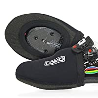 Lomo Cycling Triathlon Toe Covers with Kevlar Reinforced Sole - Neoprene