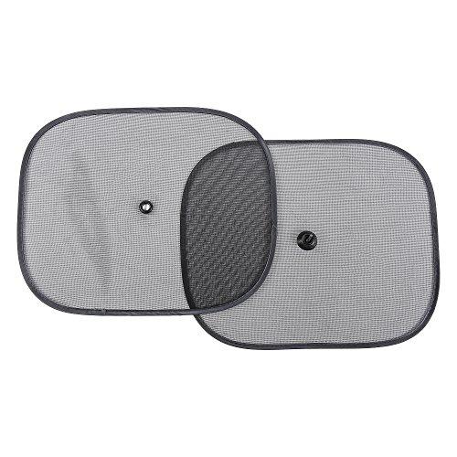 Auto-Sonnenschutz J-PG - Kinder Sonnenschutz für Autofenster mit Saugnapf (2 Stück 36x44cm), schützt Kinder und Haustiere vor UV Strahlen und Hitze
