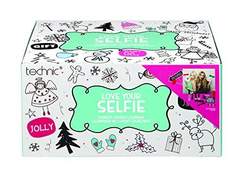 Technic Calendrier de l'Avent à Selfie avec 24 Produits Cosmétiques