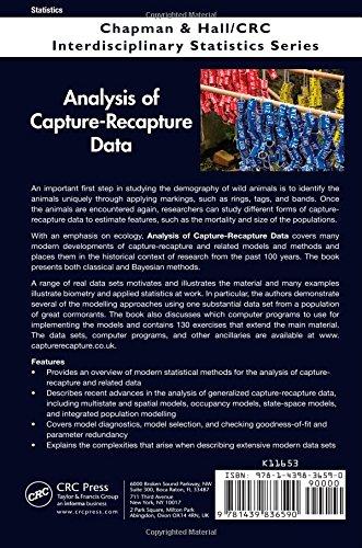 Analysis of Capture-Recapture Data (Chapman & Hall/CRC Interdisciplinary Statistics)