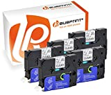 Bubprint 5 Schriftbänder kompatibel für Brother TZE-131 TZE 131 für P-Touch 1280 2430PC 2730VP 3600 9500PC 9700PC D400VP D600VP H100LB H105 P700 P750W