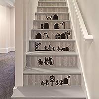 Da.Wa 1Pcs Diseño de Pegatinas de Pared de la Familia del Ratón 25 * 55cm