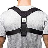 Supportiback appareil orthopédique thérapeutique pour le haut du dos, corrige la posture, sangles rembourrées épaisses, réglable, se porte comme un sac à dos