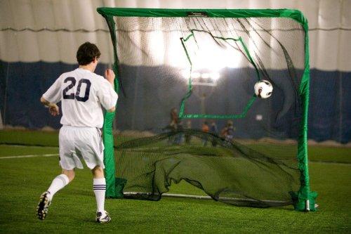 Hinterhof-Fußball-Ziel Netz und Rebounder (Lacrosse-netze Ziele)