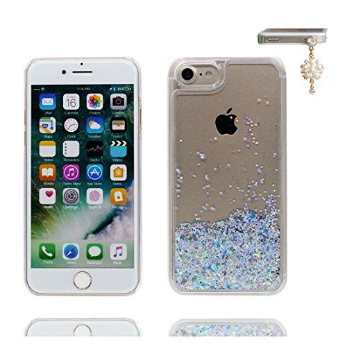 """Hülle iPhone 6, [ Liquid Fließendes Glitzer Bling Bling ] iPhone 6S Handyhülle Cover (4.7 zoll), iPhone 6 Case Shell (4.7"""") Anti-Beulen & Staubstecker-Make up Palette Lippenstift Parfüm # 2"""