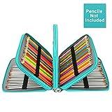 okpow 168Slots Bleistift Fall PU Leder praktische große - Best Reviews Guide