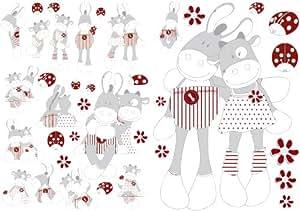 Noukies paquito lolita decorazioni for Decorazioni autoadesive
