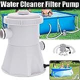 yuyoug 220V Elektrische Schwimmen Pool Filter Pump-Clear Sand Filter Pumpe für Dem Pools-Swimming Pool Reinigung Werkzeug UK