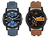 #9: Ak Analogue Multi-Colour Dial Men Watch-Wat-W06-1-2-Combo