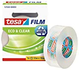 Cinta adhesiva tesafilm ecologo (33m x 19mm), transparente