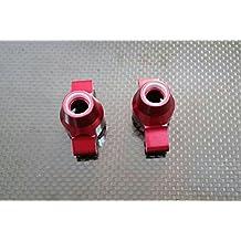 Tamiya TT-02 Upgrade Parts Aluminium Rear Knuckle Arm - 1Pr Red