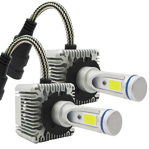 Preisvergleich Produktbild TXVSO8 D1S/D3S D1R/D3R 110W LED COB Auto Scheinwerfer Kit 9200LM 6000K Weiße Lampen Birnen, 55W/Bulb, 2 Yr Warranty