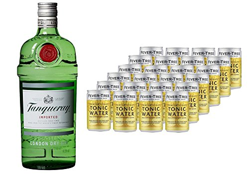 tanqueray-london-dry-gin-1-x-1-l-mit-fever-tree-premium-indian-tonic-water-dosen-24-x-150ml