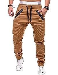 Wenyujh  Homme Baggy Pantalon de Sport Jogging Loisirs Casual Jogger Pants  Jogging Sweatpants Sarouel Fitness 1e916f97c1c0