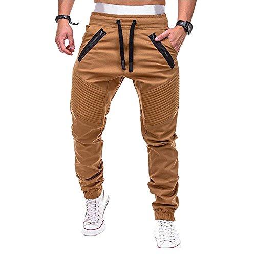 Youthny Homme Pantalon de Sport Loisir Hip-Pop Slim Fit en...