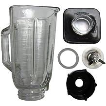 6 piezas Jarra de vidrio Kit de reemplazo para Oster batidoras gset-cs