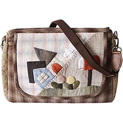 Manor Crossbody Bag Topper trapunta kit Kit Borsa Messenger Borsa Kit da cucito per donna