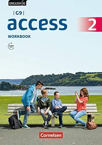 English G Access - G9 - Ausgabe 2019: Band 2: 6. Schuljahr - Workbook mit Audios online