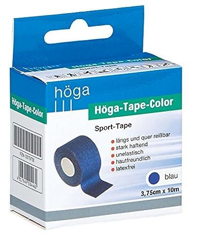 Höga-Tape Color, 3.75 cm x 10 m, blau, Sport-Tape, 1er Pack (1 x 103 g)