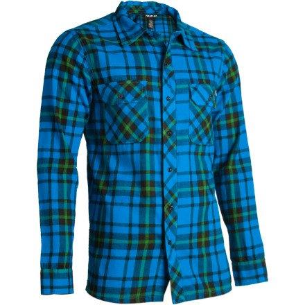 nomis-herren-hemd-long-sleeve-double-team-flannel-bright-blue-lt-38602