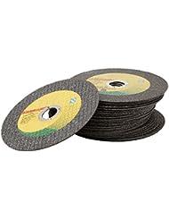 sypure £ ¨ TM) 5pcs acero inoxidable 107mm Ultra Thin resina pequeño acero inoxidable cortador de cortar abrasivos de corte de molienda de ruedas disco