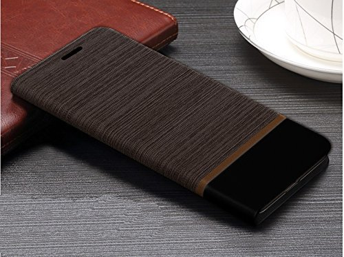 Febelo Redmi Note 3 Brown Black Professional Design Customised Perfect Fitting Video Stand View Flip Cover Case for Xiaomi Redmi Note 3 – (Brown With Black Color)