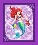 Disney Ariel memaid Splash Panel Baumwolle Print Quilting