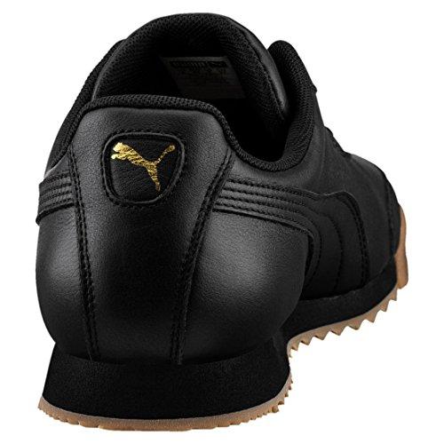 Puma Unisex-Erwachsene Roma Classic Gum Sneaker Schwarz