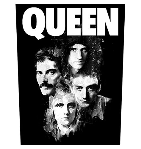 Queen Faces Freddie Mercury oficial 30x36x29cm Parche