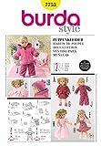 Burda Schnittmuster 7753–Puppe Kleidung