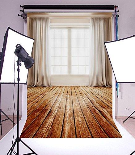 YongFoto 2,5x3m Vinyl Foto Hintergrund Fenster mit Vorhang im Großen Raum Innenraum Fotografie Hintergrund für Fotoshooting Portraitfotos Party Kinder Hochzeit Fotostudio Requisiten