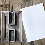 Cracklight DIY moldes de Maceta de Cemento Caja de Almacenamiento Molde decoración del hogar Maceta de
