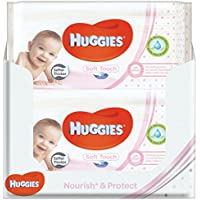 Huggies Soft Touch Baby Pflegetücher, 10er (10 x 56 Tücher)