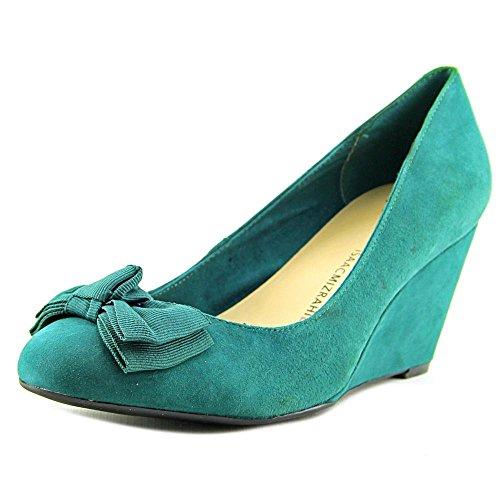 isaac-mizrahi-kasey-femmes-us-85-turquoise-talons-compenses