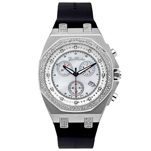 Joe Rodeo Diamant Homme Montre - PANAMA argent 2.15 ctw
