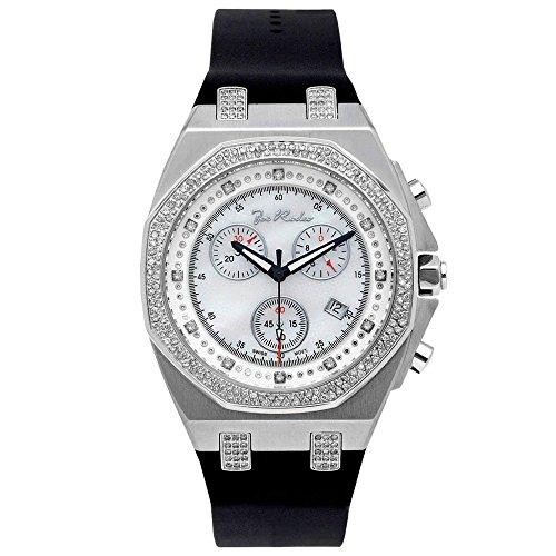 Joe Rodeo Diamond Men's Watch - PANAMA silver 2.15 ctw