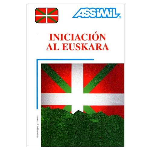 Iniciación al Euskara (1 livre + coffret de 4 cassettes) (en espagnol)