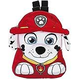 Safta Marshall Patrulla Canina Mochila Peluche, Color Rojo