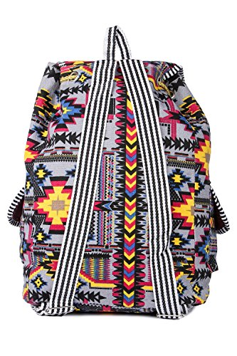 Trendifly New Stylish Bunny Backpack Bag for Women and College Girls Teddy Printed Multicolour Image 6