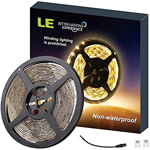 LE Tira LED 4100057WW Blanco cálido 5m 300 LED, 300lm/m, no impermeable