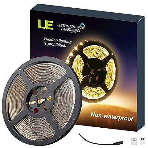 LE Ruban LED 5M Bandes LED Flexibles 12V Lumière Blanc